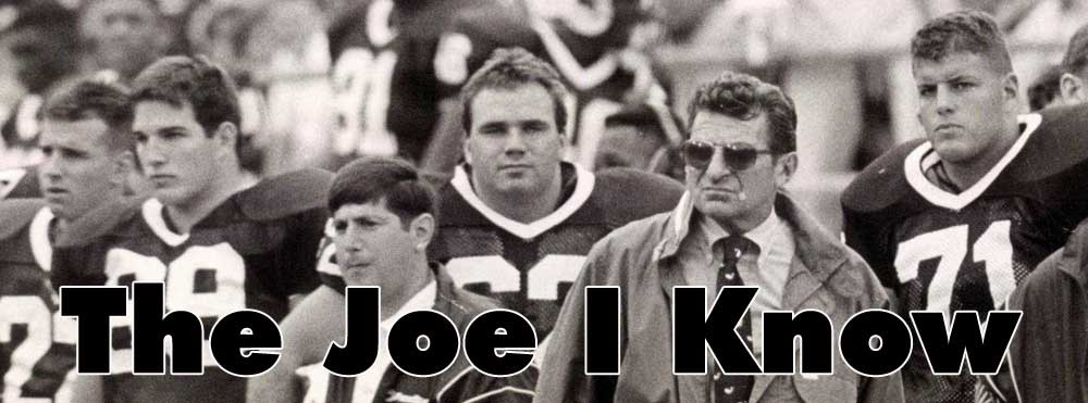 Joe Paterno legend coach of Penn State football team